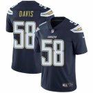 Men's Chargers 58 Thomas Davis Navy Blue Limited Jesrey
