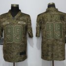 Men's Chargers 99 Jerry Tillery 2018 Camo Salute to Service Limited Stitched Jersey