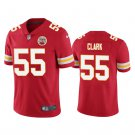 Men's Chiefs 55 Frank Clark Red Limited Stitched Jersey