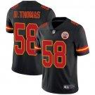 Men's Chiefs 58 Derrick Thomas Black Limited Stitched Jersey