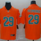 Men's Dolphins 29 Minkah Fitzpatrick Orange Inverted Legend Stitched Jersey