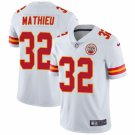 Men's Kansas City Chiefs 32 Tyrann Mathieu White Limited Stitched Jersey