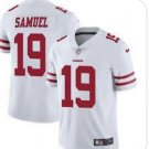 Men's San Francisco 49ers 19 Deebo Samuel White Limited Stitched Jersey