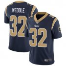 Men's Rams 32 Eric Weddle Navy Limited Stitched Jersey