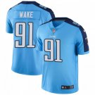 Men's Titans 91 Cameron Wake Light Blue Limited Stitched Jersey