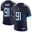 Men's Titans 91 Cameron Wake Navy Blue Limited Stitched Jersey