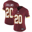 Women's Redskins 20 Landon Collins Burgundy Limited Stitched Jersey