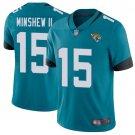 Men's Jacksonville Jaguars Gardner Minshew II Limited Teal Green Limited Stitched Jersey