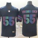 Men's Cowboys 55 Leighton Vander Esch Navy City Edition Limited Stitched Jersey