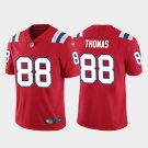 Men's New England Patriots 88 Demaryius Thomas Red Limited Stitched Jersey