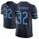Men's Bears 32 David Montgomery City Edition Navy Stitched Jersey
