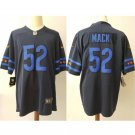 Men's Bears 52 Khalil Mack Black City Edition Limited Stitched Jersey