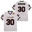 Men's Rod Smart He Hate Me 30 White Movie Stitched Jersey