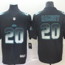 Men's Jacksonville Jaguars 20 Jalen Ramsey 2019 Black Smoke Fashion Stitched Jersey