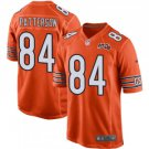 Men's Chicago Bears 84 Cordarrelle Patterson 100th Pro Line Player Orange Stitched Jersey