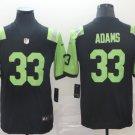 Men's New York Jets 33 jamal adams City edition black green Stitched Jersey
