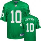 Men's Philadelphia Eagles 10 DeSean Jackson 1960 Throwback Green Stitched Jersey