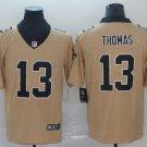 Men's New Orleans Saints 13 Michael Thomas Gold Inverted Legend Stitched Jersey