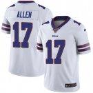 Men's Buffalo Bills 17 Josh Allen 100th Season white Limited  Stitched Jersey