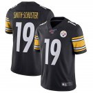 Men's Pittsburgh Steelers 100th 19 JuJu Smith-Schuster Black  Limited Stitched Jersey