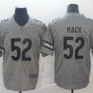Bears 52 Khalil Mack Gray Gridiron Limited Men Jersey
