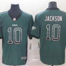Eagles 10 DeSean Jackson Green Drift Fashion Vapor Limited Men Jersey