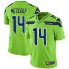 Seahawks 14 DK Metcalf Green Color Rush Limited Men Jersey