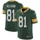 Packers 81 Geronimo Allison Green Vapor Untouchable Limited Men Jersey