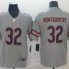 Bears 32 David Montgomery Inverted Legend Limited Men Jersey