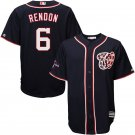 Men's 2019 World Series Champions Nationals #6 Anthony Rendon Navy Stitched Jersey
