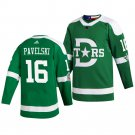 Men's Dallas Stars Joe Pavelski Green 2020 Winter Classic Jersey