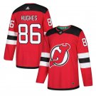 New Stitched Jersey Devils #86 Jack Hughes Red Home Stitched Jersey