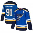 St. Louis Blues #91 Vladimir Tarasenko Royal Stitched Jersey