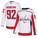 Washington Capitals #92 Evgeny Kuznetsov White Away Stitched Jersey
