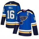 St. Louis Blues #16 Brett Hull Royal Stitched Jersey