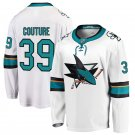 San Jose Sharks #39 Logan Couture White Away Stitched Jersey
