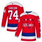Washington Capitals #74 John Carlson Red Alternate Stitched Jersey
