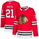 Chicago Blackhawks #21 Stan Mikita Red Home Stitched Jersey
