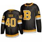 Boston Bruins #40 Tuukka Rask Third Black Stitched Jersey