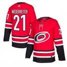 Carolina Hurricanes #21 Nino Niederreiter Red Home Stitched Jersey