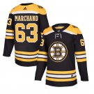 Boston Bruins #63 Brad Marchand Black Stitched Jersey