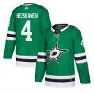 Dallas Stars #4 Miro Heiskanen Green Home Stitched Jersey