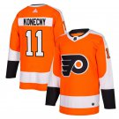 Philadelphia Flyers #11 Travis Konecny Orange Home Stitched Jersey