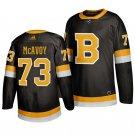 Boston Bruins #73 Charlie McAvoy Third Black Stitched Jersey