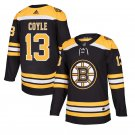 Boston Bruins #13 Charlie Coyle Black Stitched Jersey