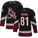 Arizona Coyotes #81 Phil Kessel Black Alternate Stitched Jersey