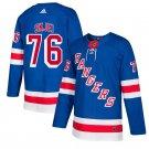 New York Rangers #76 Brady Skjei Royal Home Stitched Jersey