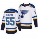 St. Louis Blues #55 Colton Parayko white Stitched Jersey