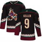 Arizona Coyotes #9 Clayton Keller Black Alternate Stitched Jersey