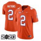 Clemson Tigers 2020 national championship #2 Sammy Watkins Orange Jersey